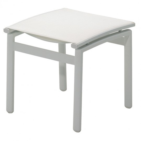 Azore Reclining Chair Footstool- (Frost/White)