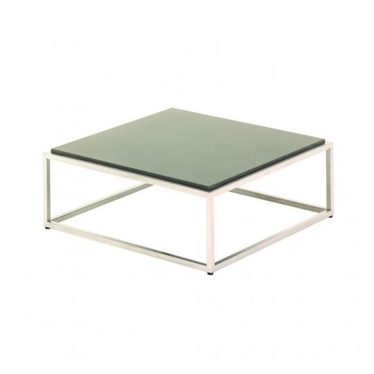 "Cloud 30"" x30"" Coffee Table - Taupe Quartz Top"