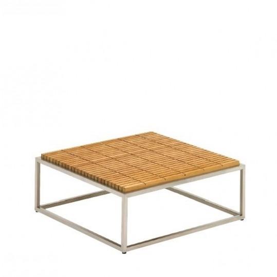 """Cloud 30"""" x30"""" Coffee Table - Teak Top"""