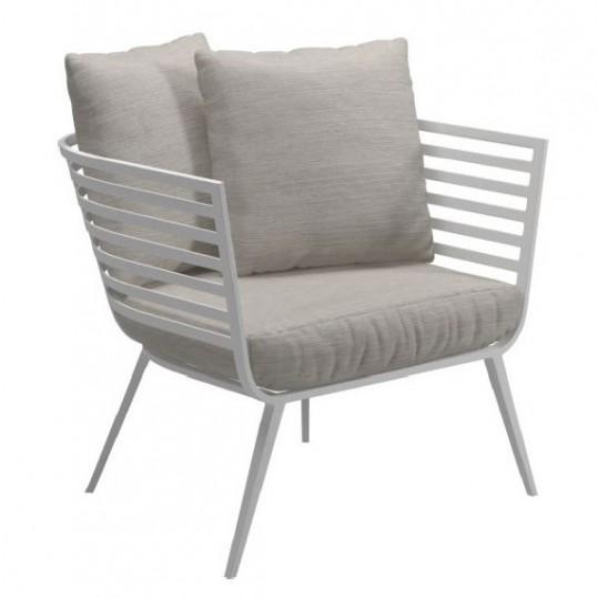 Vista Lounge Chair - Frost