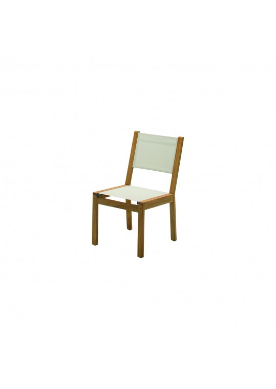 Solana Sling Dining Chair - Canvas