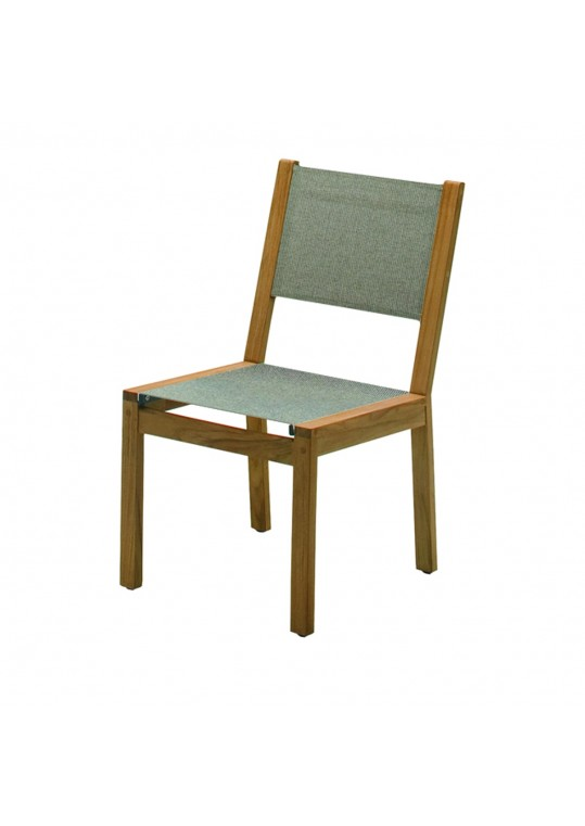 Solana Sling Dining Chair - Granite