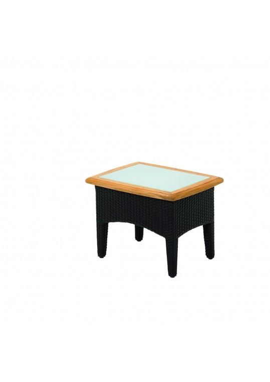 """Plantation 25"""" x 20"""" Small Side Table - Mahogany"""