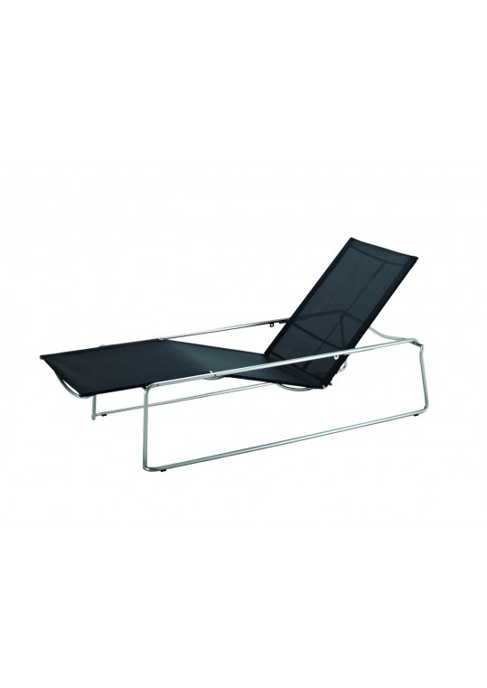 Asta Lounger - Charcoal
