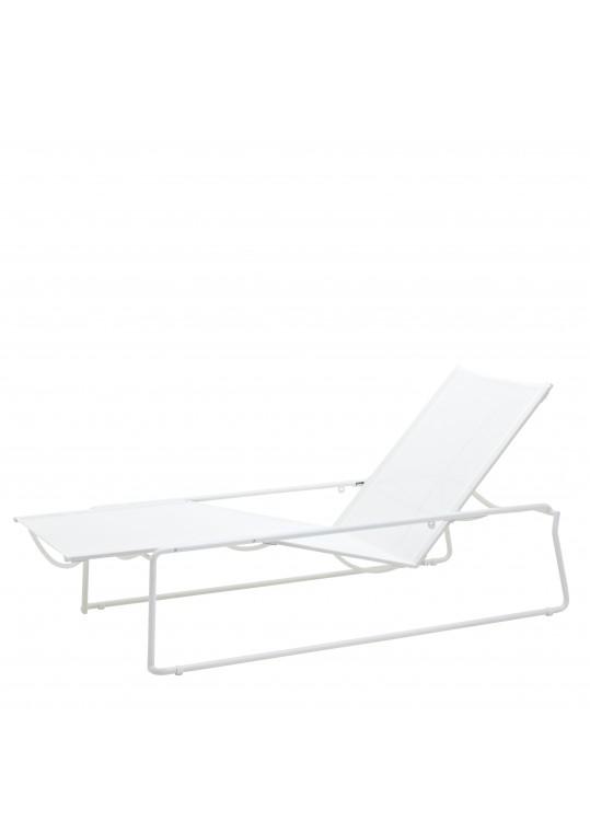Asta Lounger - White White