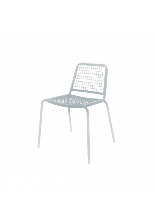Nomad Woven Stacking Chair - White