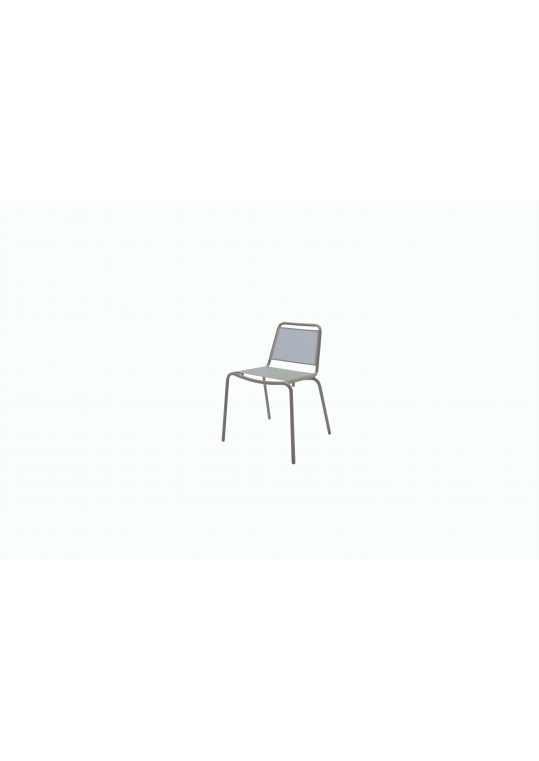 Nomad Sling Stacking Chair - Taupe
