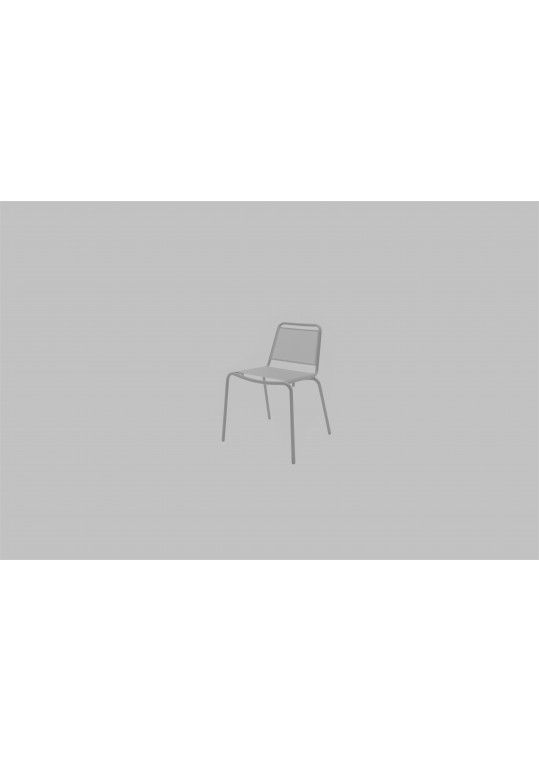 Nomad Sling Stacking Chair - White