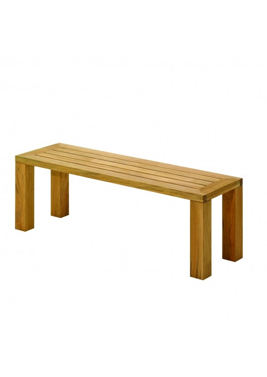 Square Small Backless Bench