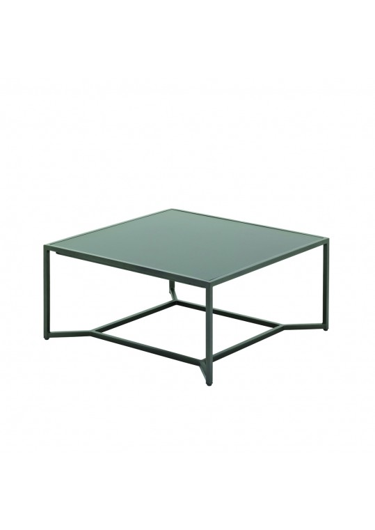 Bloc High Coffee Table - Black HPL Top - Cinder
