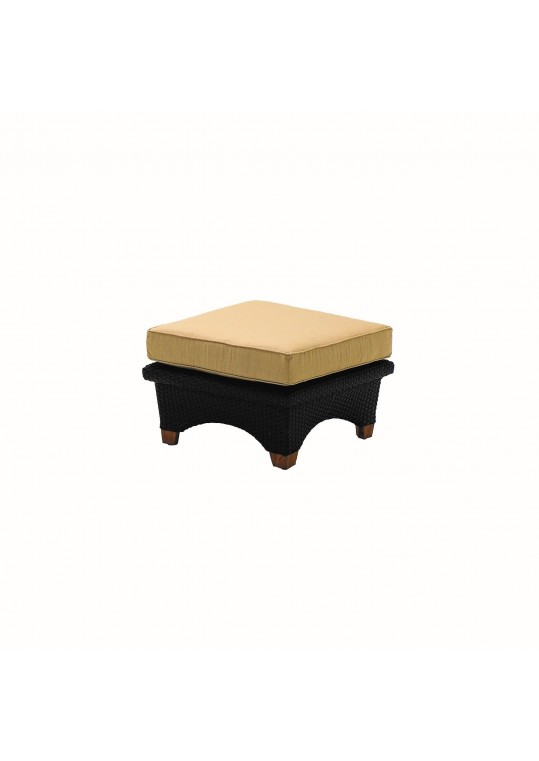 Plantation Sectional Square Ottoman - Mahogany (Last One!)
