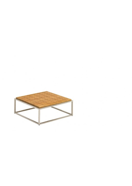 "Cloud 30"" x30"" Coffee Table - Teak Top"
