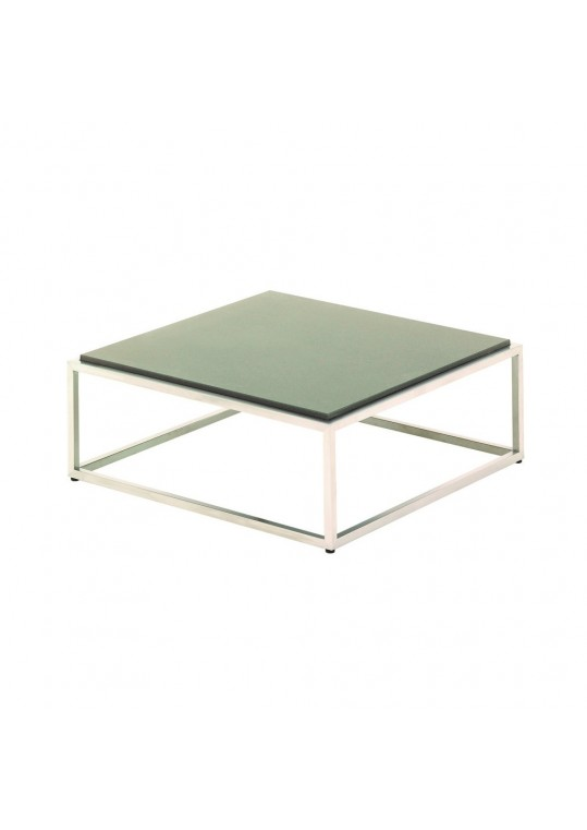 "Cloud 30"" x30"" Coffee Table - Taupe Quartz Top"
