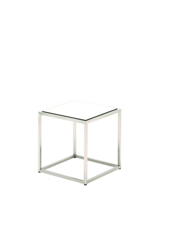 Cloud Side Table - White HPL Top