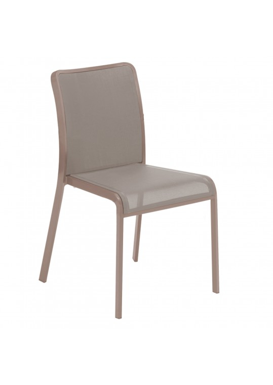 Riva Stacking Chair (Russet/Taupe)