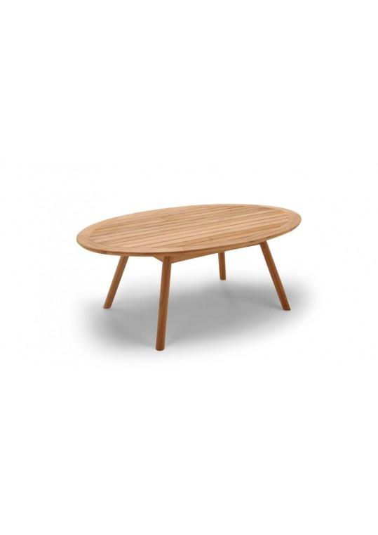 Dansk Coffee Table w/Teak Top