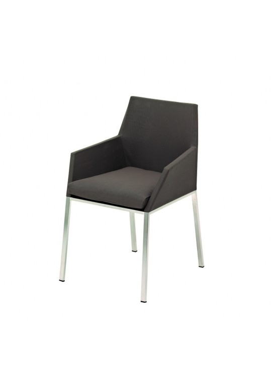 Cloud Dining Arm Chair -  Taupe