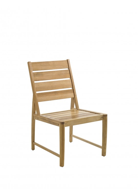 Oyster Reef Dining Side Chair - BUFFED