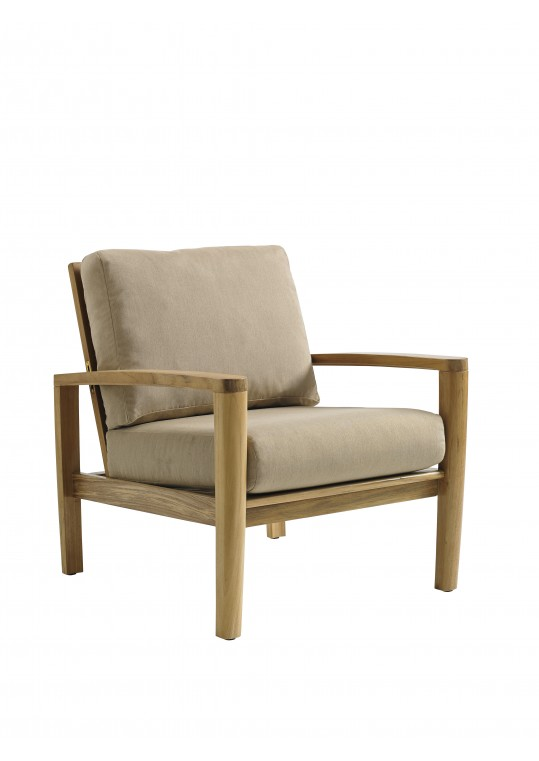Oyster Reef Reclining Lounge Chair - BUFFED