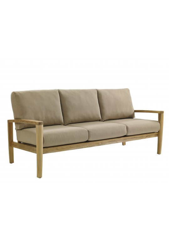 Oyster Reef 3 Seater Sofa - BUFFED