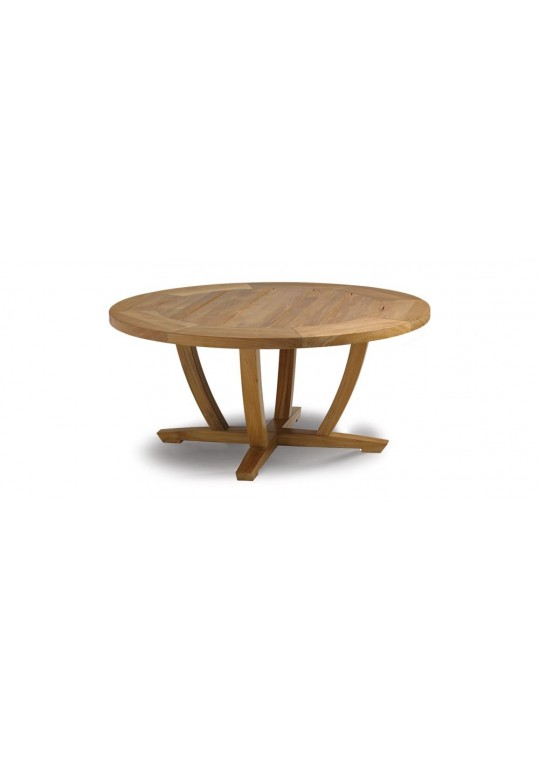 """Oyster Reef 42"""" Round Coffee Table"""