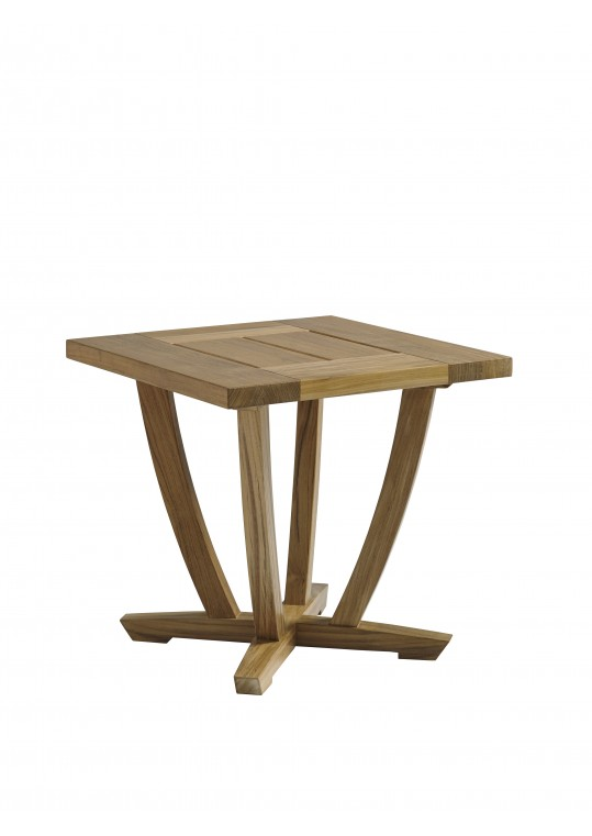 """Oyster Reef 22"""" Square End Table"""