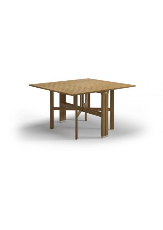 """Voyager 45.5"""" x 51"""" Rectangular Gateleg Table - White"""