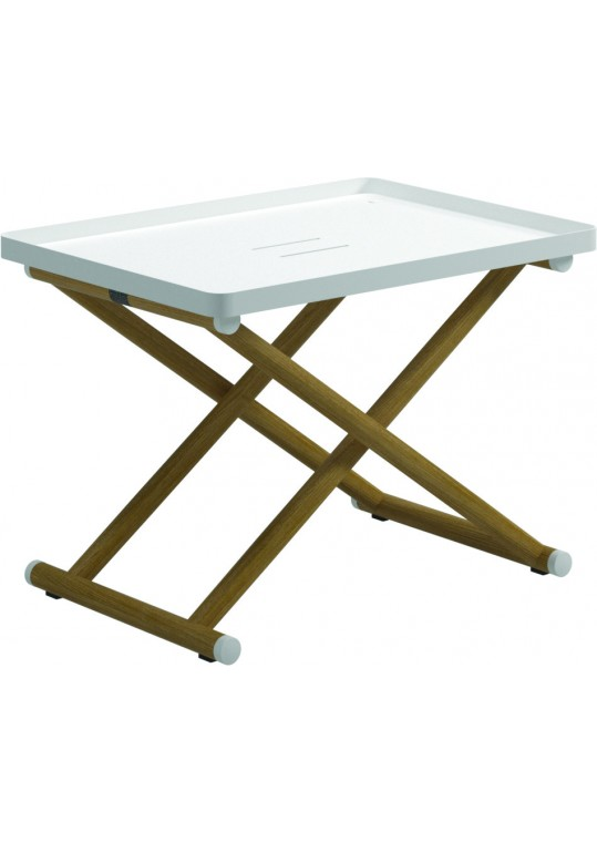 Voyager Folding Tray Stand (White)
