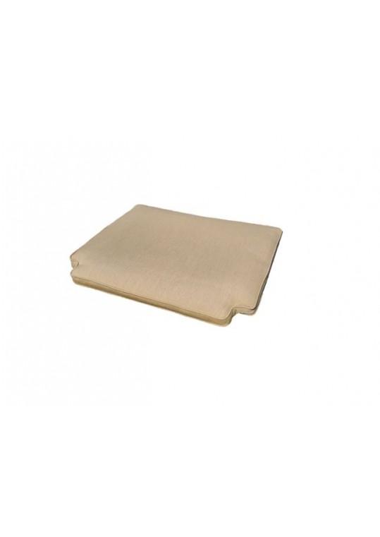 Cape Dining Seat Pad-Pebble Fabric (Quick-Ship Cushion)