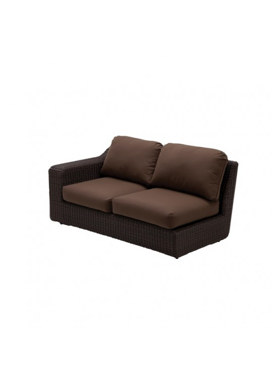 Monterey Sectional 2-Seater Right End Unit (Sienna)