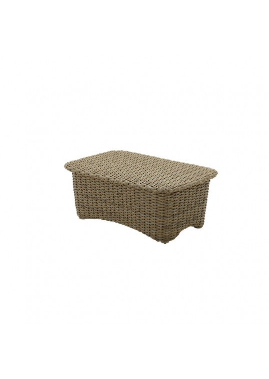 SUNSET 30 x 50 Coffee Table w Woven Top
